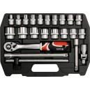 Набор инструментов YATO на 23 предмета. YT-3873.