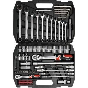 YATO YT-3878. Набор инструментов на 77 предметов.