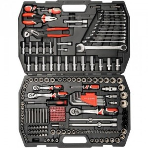 YATO YT-3894. Набор инструментов на 225 предметов.