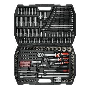 YATO YT-3884. Набор инструментов на 215 предметов.