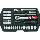 YATO YT-1446. Набор инструментов на 25 предметов.