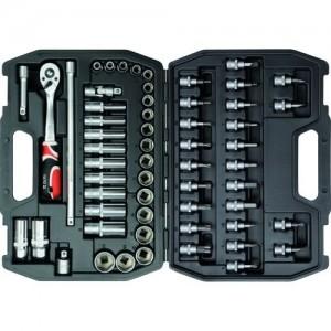 YATO YT-3857. Набор инструментов на 58 предметов.