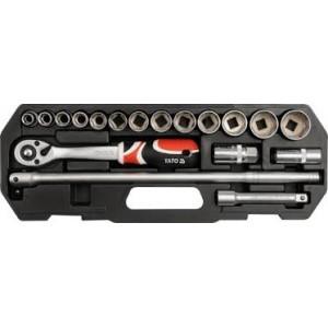 YATO YT-3870. Набор инструментов на 18 предметов.
