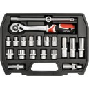 YATO YT-3869. Набор инструментов на 20 предметов.