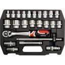 YATO YT-3872. Набор инструментов на 24 предмета.