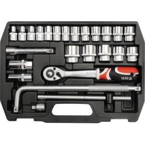 YATO YT-3874. Набор инструментов на 25 предметов.