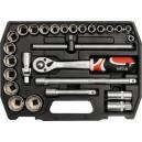 YATO YT-3875. Набор инструментов на 27 предметов.