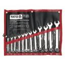 YATO YT-0062. Набор ключей комбинированных 12шт. 8-24мм.