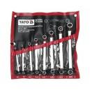 YATO YT-0248. Набор ключей накидных  8шт.