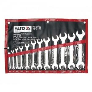 YATO YT-0152. Набор ключей рожковых 12шт.
