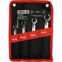 YATO YT-0143. Набор разрезных ключей 4 шт.