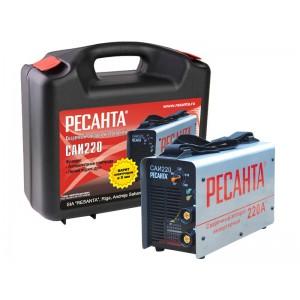 САИ-220 в кейсе, РЕСАНТА. Сварочный инверторный аппарат.