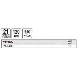 YATO YT-7400. Сумка поясная для инструмента.