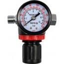 Клапан уменьшения давления с манометром YATO. YT-2381