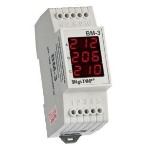 Вм-3. Цифровой индикатор напряжения.