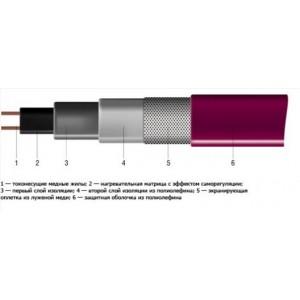 30КСТМ2. Нагревательный саморегулирующийся кабель.