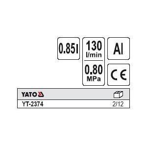 YATO YT-2374. Пистолет для нефтивания.