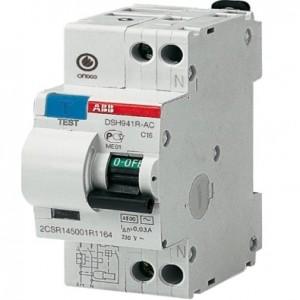 DSH941R 16A 30мА. ABB Диф автомат.
