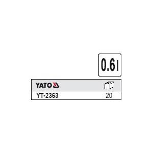 YATO YT-2363. Пластмассовый бачок 0,6л.