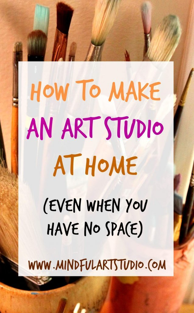 Art studio ideas for small spaces, How to Make an Art Studio at Home