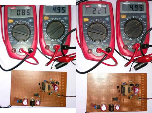 Testing 5V 2A SMPS Power Supply Circuit