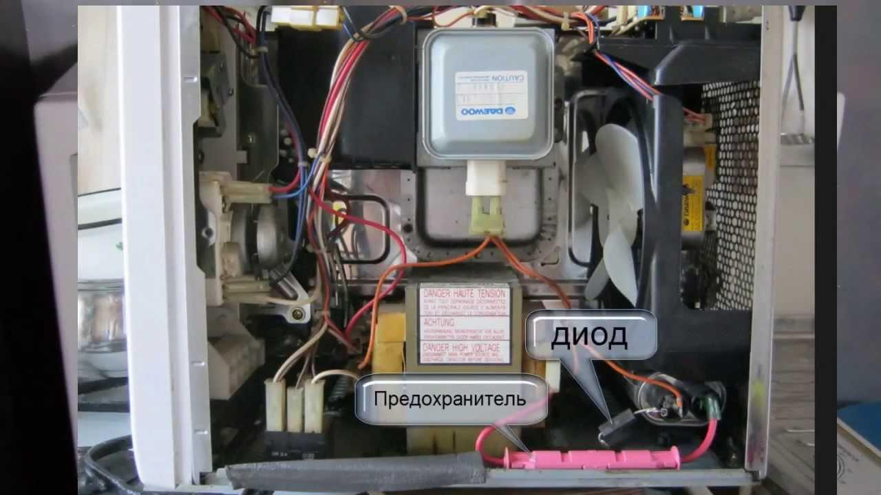 микроволновая печь самсунг не включается