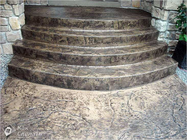 Крыльца из бетона купить цемент м500 москва цена
