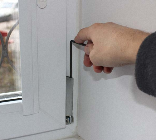 how to adjust PVC Windows for the winter