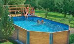 Бассейн из дерева своими руками на даче – Деревянный бассейн своими руками — как построить