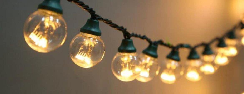Гирлянда из обычных лампочек – (,)
