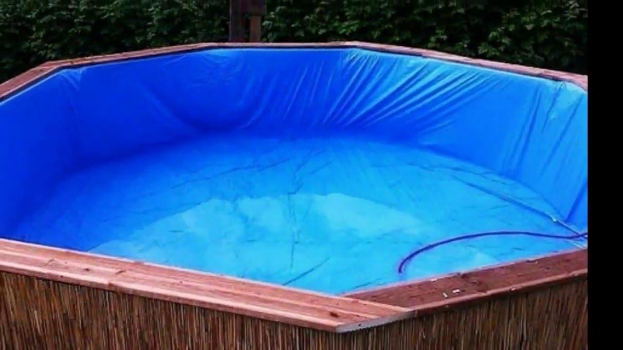 Самодельный бассейн – Как сделать бассейн на даче из подручных материалов своими руками