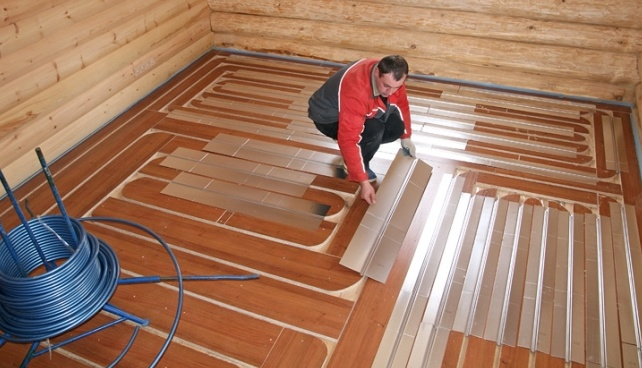 Тёплый водяной пол на деревянный пол – Теплые водяные полы на деревянный пол: виды и технология укладки